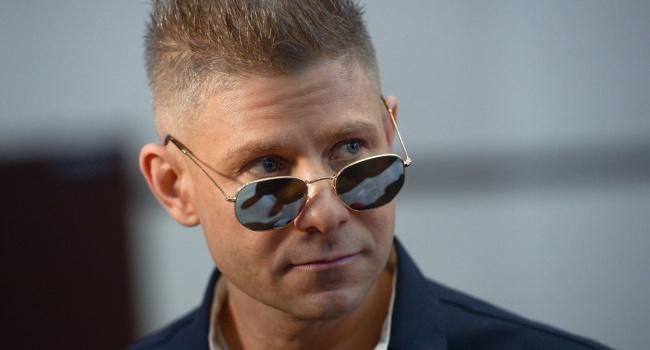 Фомин на фестивале во Львове сделал скандальное заявление о Крыме и назвал себя «голубем мира»