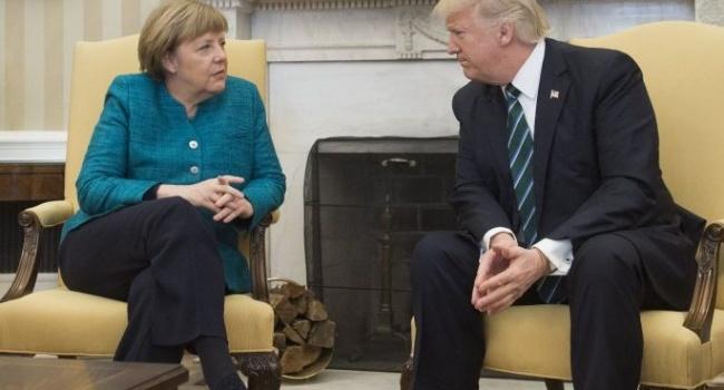 Після розмови зТрампом Меркель зробила гостру заяву наадресу США