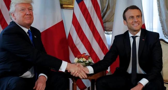 Парижское турне Трампа не обошлось без курьезов