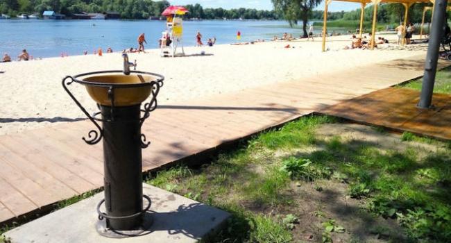 Киевский пляж «Веселка» открыт после масштабного обновления