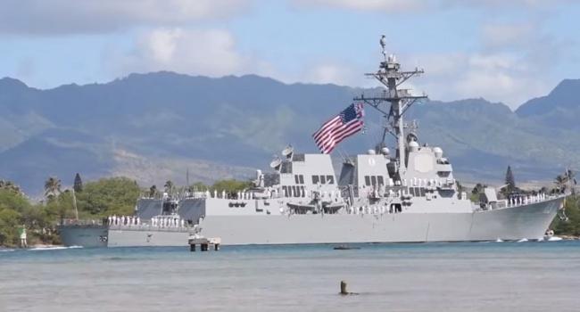 Американські ВМС отримали на озброєння ескадрений міноносець з ракетною зброєю