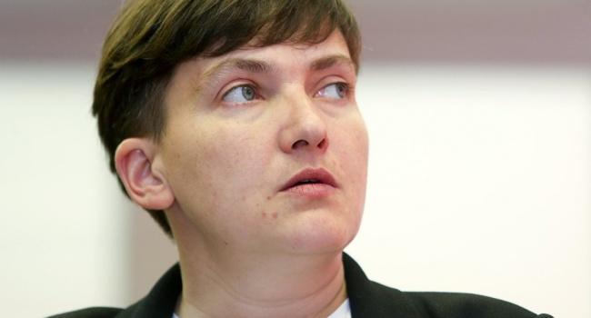 Савченко сказала о создании собственной партии «Общественно-политическая платформа Надежды Савченко»