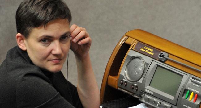 Савченко сообщила, что Минюст зарегистрировал еепартию