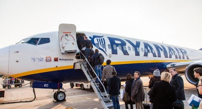 Ryanair желает резко снизить тарифы