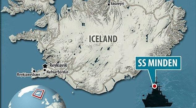 Біля берегів Ісландії знайшли чотири тонни золота, яке належало нацистам