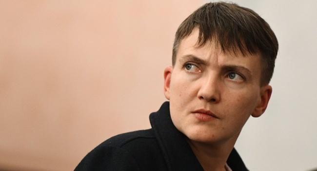 Савченко вжесткой форме описала политические события вУкраинском государстве