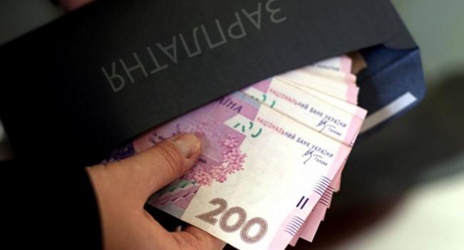 Реальная заработная плата  вгосударстве Украина  летом  подросла  на19%