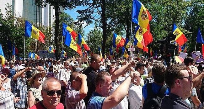 УМолдові проходять демонстрації звимогою відставки президента