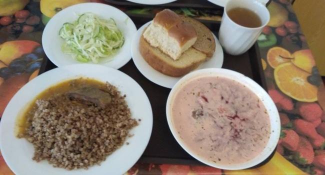 Бирюков показал, как сейчас кормят украинских военных
