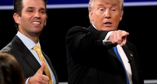 WP: Трамп лично диктовал объявление  своего сына овстрече сВесельницкой