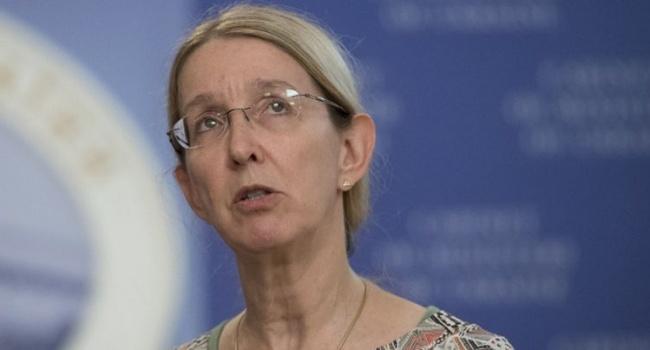 В Министерстве здравоохранения сообщили, что Супрун получила украинское гражданство согласно действующему законодательству