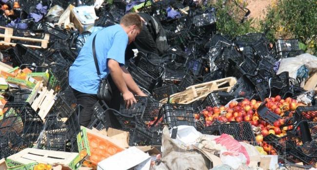 УРосії задва роки знищили 17 тисяч тонн іноземних продуктів