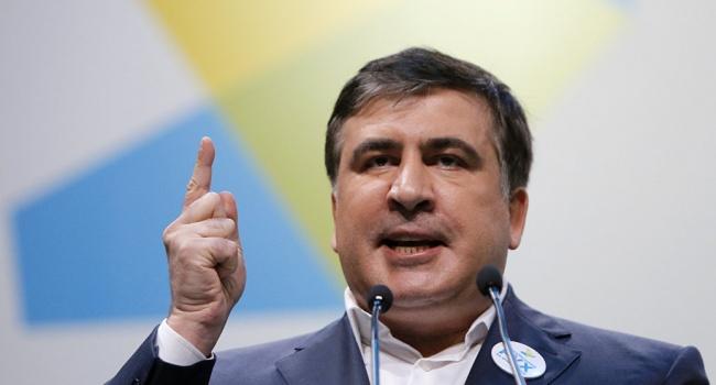 В Грузии посоветовали Саакашвили остаться бомжом