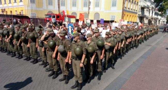 Радикали перешкодили маршу ЛГБТ в Одесі
