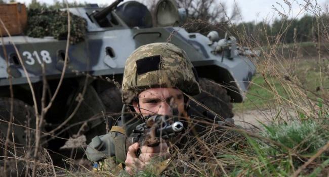 Бирюков: стрелок-контрактник на первой линии будет получать 18 000 гривен. Его жизнь будет застрахована на 1,2 миллиона