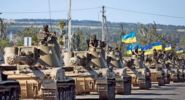 Пономарь: я горд от того, что мы имеем армию, от которой в России выступает холодный и липкий пот ненависти и страха