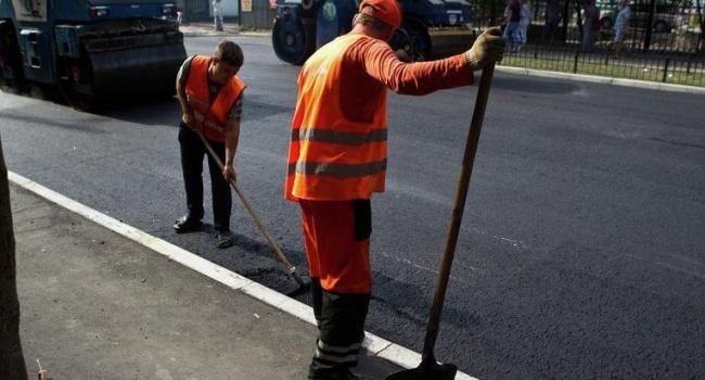 Кличко: через несколько лет в Киеве появятся дороги европейского качества