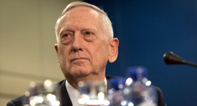 В Пентагоне рассказали о целях визита Мэттиса в Украину