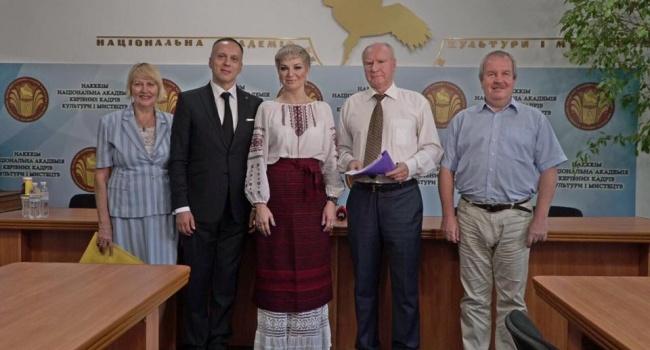 Максакова отримала посаду викладача в українському ВУЗі