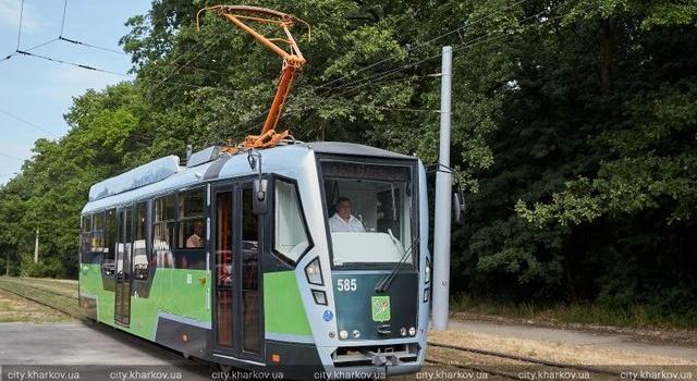 23 августа в Харькове начнет курсировать суперсовременный трамвай
