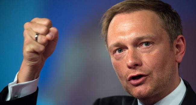 Лидер немецких либералов призывает «заморозить» спор обаннексии Россией Крыма