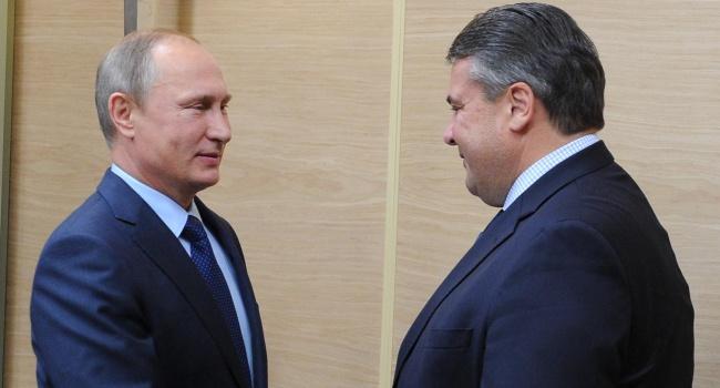 В Германии потребовали объяснений от Габриэля из-за его ужина с Путиным