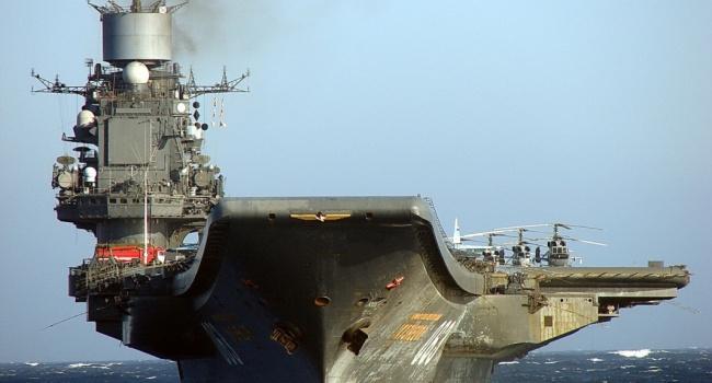 Блогер: гроза морів «Адмірал Кузнецов» ймовірно піде на металобрухт