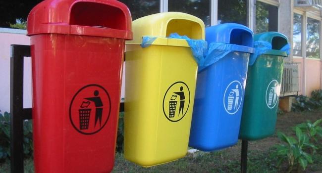В Украине сортирование мусора станет обязательным с 1 января 2018 года