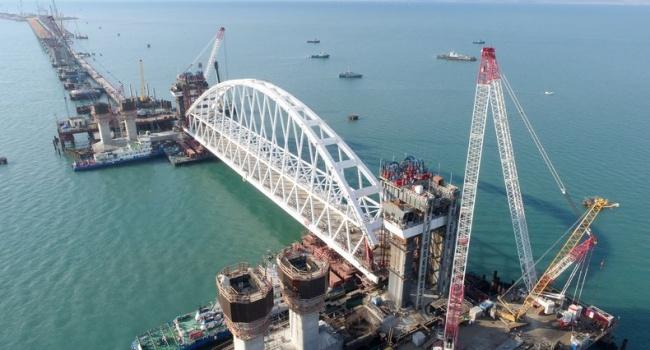 Строительство Керченского моста создало угрозу для национальной безопасности Украины