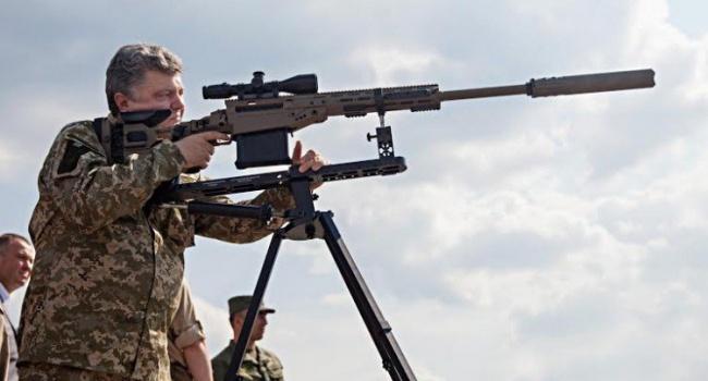 Порошенко засобственные средства покупает оружие и информирует его украинским военным