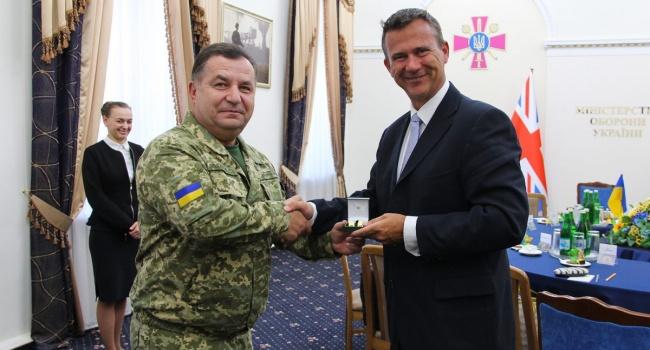 Глава британского оборонного ведомства дал четкий сигнал военной поддержки Украине