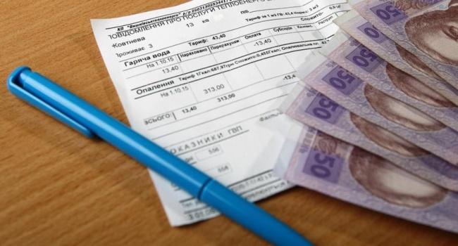 28 миллиардов: долг украинцев за коммуналку непрерывно растет