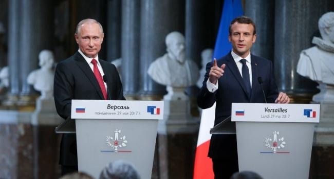Уступок не будет: Макрон на переговорах с Путиным дал четкий сигнал по Украине