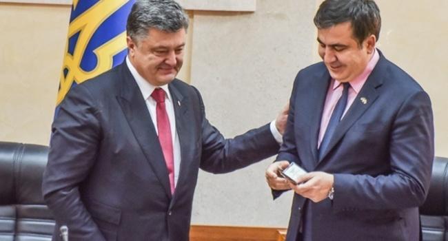 Саакашвілі мала б засмутити відповідь Порошенка – виявляється, президент його не чекає