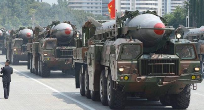 В США показали процес знищення ракет КНДР