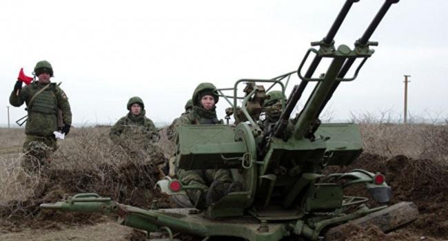 Российская Федерация начала военные учения ваннексированном Крыму