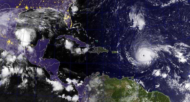 Тропический шторм «Катя» движется кСША вслед заураганом «Ирма»