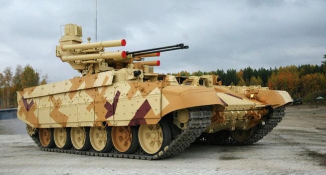 Росія в Сирі протестувала бойовий автомобіль «Термінатор»