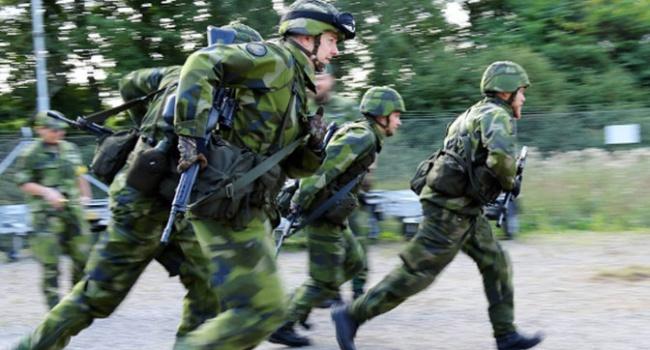 Швеция начала крупнейшие военные учения водин день сРоссией