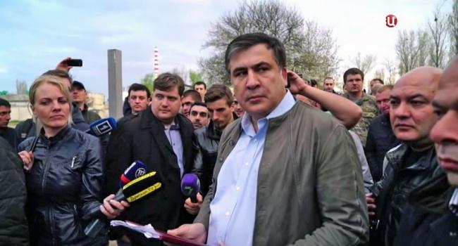 Саакашвили: уменя нет желания организовать новейшую революцию вгосударстве Украина