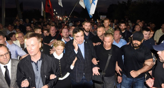 ВМВД Украины считают, что нет оснований для задержания Саакашвили