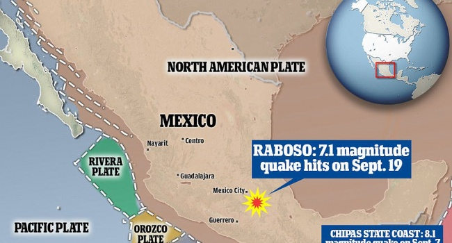 Землетрясение вМексике: количество жертв перевалило за200