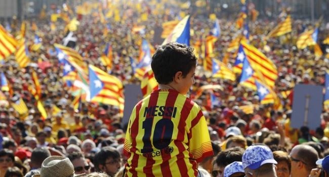 ВБарселоне прошли обыски вофисе каталонского руководства