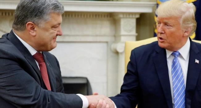 Порошенко очікує підтримки США уважкий для України час