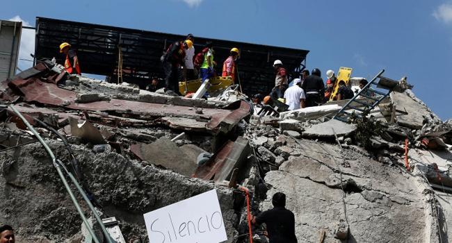 Землетрясение вМексике натекущий момент 2017: фото, видео, последние данные опострадавших