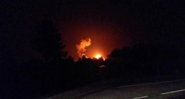 Более 30 тысяч человек эвакуированы из района взрывов под Винницей