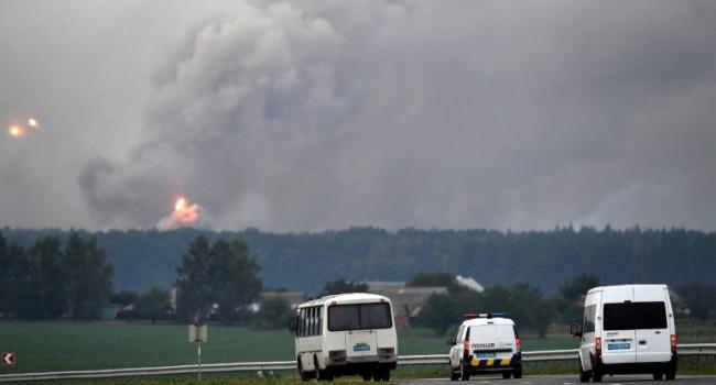 ВСБУ назвали предварительную версию инцидента наскладе боеприпасов под Винницей