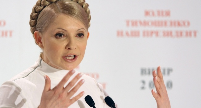Тимошенко пробежала 12 километров, поспорив надве бутылки вина