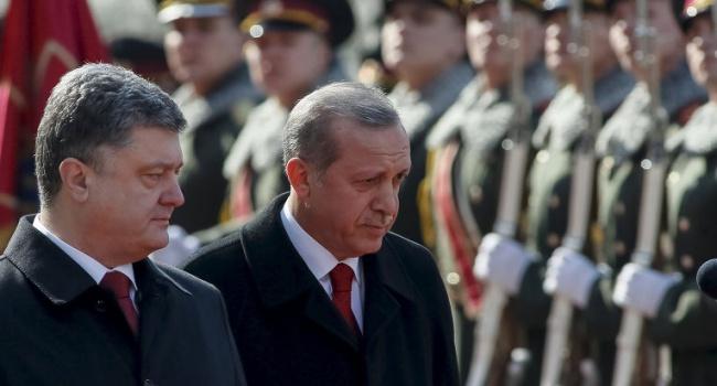 Эрдоган в Киеве не захотел обсуждать вопрос усиления санкций против РФ за аннексию Крыма