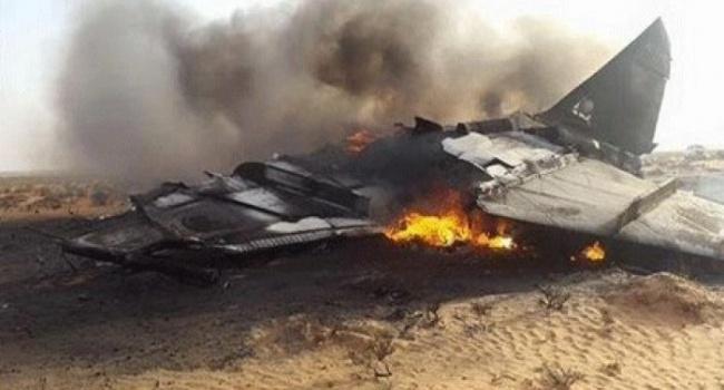 УСирії назлеті розбився російський Су-24, екіпаж загинув